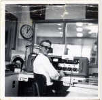 Larry at KWRT Boonville MO 1963