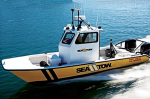 Sea Tow Vessel Underway